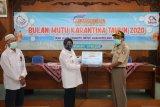 BKIPM Yogyakarta salurkan bantuan ikan untuk tenaga medis dan warga