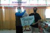 BPJS Ketenagakerjaan Baubau donasikan 300 paket sembako bantu warga terdampak COVID-19