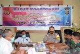 Polres Palu gelar Rakor pengamanan Hari Raya Idul Fitri 2020
