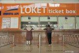 Pengembalian uang tiket kereta api di Stasiun Kertapati