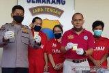 Sopir taksi online jadi kurir ekstasi ditangkap di Semarang