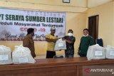 PT SSL dan Ekawana Bagikan 400 paket sembako di tujuh desa Siak