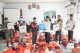 ITDC menyalurkan 1.200 paket sembako di desa penyangga Mandalika