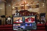 Ibadah Perayaan Kenaikan Isa Almasih Disiarkan Secara Daring