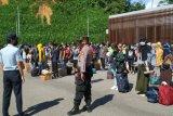 Malaysia deportasi 142 orang pekerja migran Indonesia melalui lintas batas Entikong Kalbar