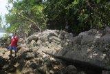 Pantai Batu Ular Talaud dengan cerita mistisnya