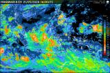 BMKG deteksi siklon tropis 'Mangga' di barat daya Bengkulu, waspadai angin kencang dan hujan lebat