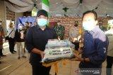 Meski zona merah, Herman Deru apresiasi Kota Prabumulih mampu turunkan paparan COVID-19