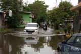 Sebagian wilayah di Kota Makassar digenangi banjir