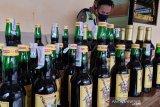 Polisi gagalkan penjualan ratusan botol minuman keras siap edar malam Lebaran