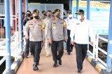 Kapolda tinjau kesiapan personel Operasi Ketupat di Karimun