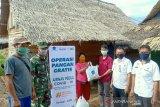 Airnav - ACT Sumsel salurkan sembako untuk warga prasejahtera