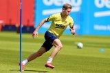 Gelandang Barcelona Frenkie de Jong belum siap kembali bermain