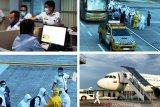 Pemulangan TKA asal China yang bekerja di proyek PT OKI Pulp Sumsel diawasi secara ketat