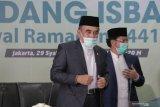 Hasil sidang isbat: Idul Fitri 1441 Hijriah pada Minggu