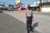 Awasi pemudik, polisi sekat jalur perbatasan Purbalingga-Banjarnegara