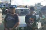 Bawa ganja, dua pemuda ditangkap
