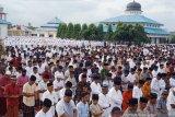 Sebagian warga Nagan Raya, Provinsi Aceh sudah rayakan Hari Raya Idul Fitri