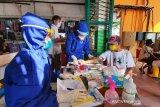 Pengunjung Pasar Dawe Kudus  dinyatakan reaktif corona