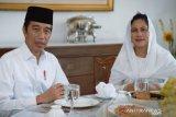 Presiden Jokowi dan Ibu Negara sampaikan ucapan selamat Idul Fitri 1441 H