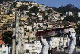 Corona di Brazil terus melonjak, tembus 26.417 kasus baru dalam 24 jam