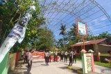 Antisipasi warga yang hendak berwisata, Polresta Padang pantau  Pantai Air Manis