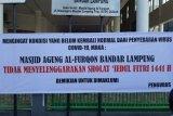 Sebagian mushala di Bandarlampung masih laksanakan Shalat Idul Fitri