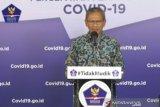 Achmad Yurianto:  Pasien sembuh 5.402 orang, positif COVID-19 sebanyak 22.271 orang