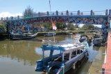 Akibat pandemi COVID-19 sejumlah nakhoda dan ABK kapal wisata Pariaman kembali jadi nelayan