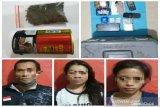 Pasangan suami istri ditangkap polisi karena edarkan sabu dan ganja