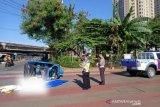 Tabrakan Transjakarta v Bajaj, satu penumpang tewas di tempat