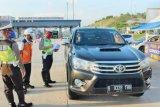 Kendaraan lintasi Tol Trans Sumatera Lampung-Sumsel menurun dampak COVID-19