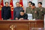 Kim Jong Un kunjungi area terdampak topan
