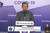 Jubir Pemerintah : Pasien COVID-19 sembuh bertambah 235 menjadi 5.877 orang