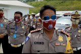 Polda Lampung lakukan penyekatan kendaraan pada arus balik