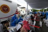 BIN gelar rapid dan swab test pandemi COVID-19