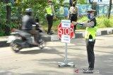 Sanksi PSBB di Palembang mulai diberlakukan