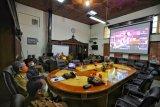 Pemkot Makassar dan Gubernur Sulsel halal bihalal virtual