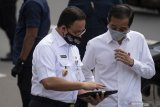 Presiden Jokowi minta jajarannya kendalikan arus balik Lebaran