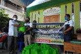 Ershi Polda Papua gelar baksos pandemi Covid-19 di Kota Jayapura