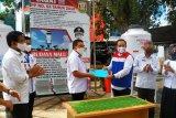 Pertamina berikan bantuan 10 wastafel portable ke Pemkot Bandarlampung