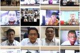 PLN Sumbar gelar halalbihalal secara virtual dengan pemangku kepentingan