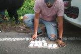Bawa 500 gram sabu, pasutri ditangkap di kawasan Posko Libas Palangka Raya