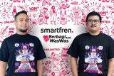 Smartfren merangkul kreator muda lokal dalam #BerbagiAntiWasWas galang donasi