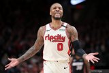 Damian Lillard katakan ogah lanjutkan NBA jika timnya Portland Trail tidak masuk playoff