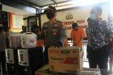 Polisi ringkus otak komplotan pencuri APD