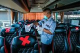 Bisnis bergulir, bus disewakan sesuai protokol kesehatan
