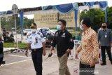 Gubernur Herman Deru tinjau penerapan PSBB Kota Prabumulih, kesadaran masyarakat tinggi