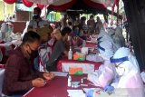 Warga Kapuas antusias ikuti 'rapid test' cegah penyebaran COVID-19