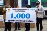 Wagub Papua lepas 168 tenaga medis penanganan COVID-19 di kabupaten/kota